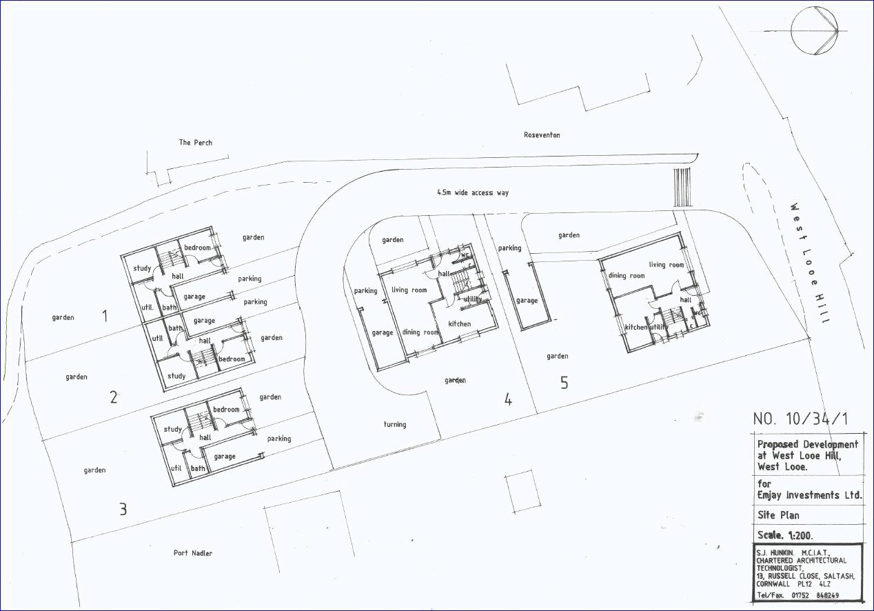 Possible Development Plan subject to planning