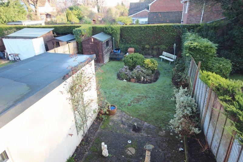 Birds Eye View of Rear Garden