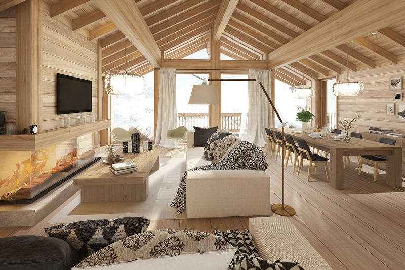 Meribel - Ski-in ski-out Chalet (3 to 6 bed) - Three Valleys