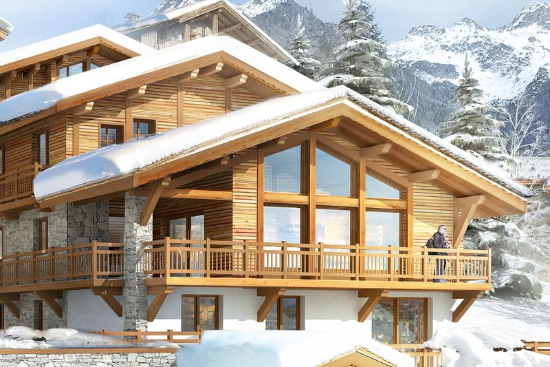 La Rosiere - Les Chalets du Chantel - 3 BED APARTMENT