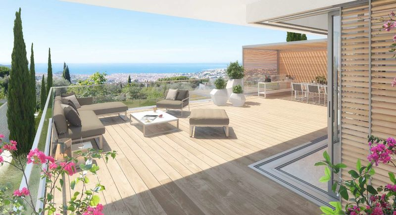 Nice - Domaine de Gairaut (3 beds + cabin)