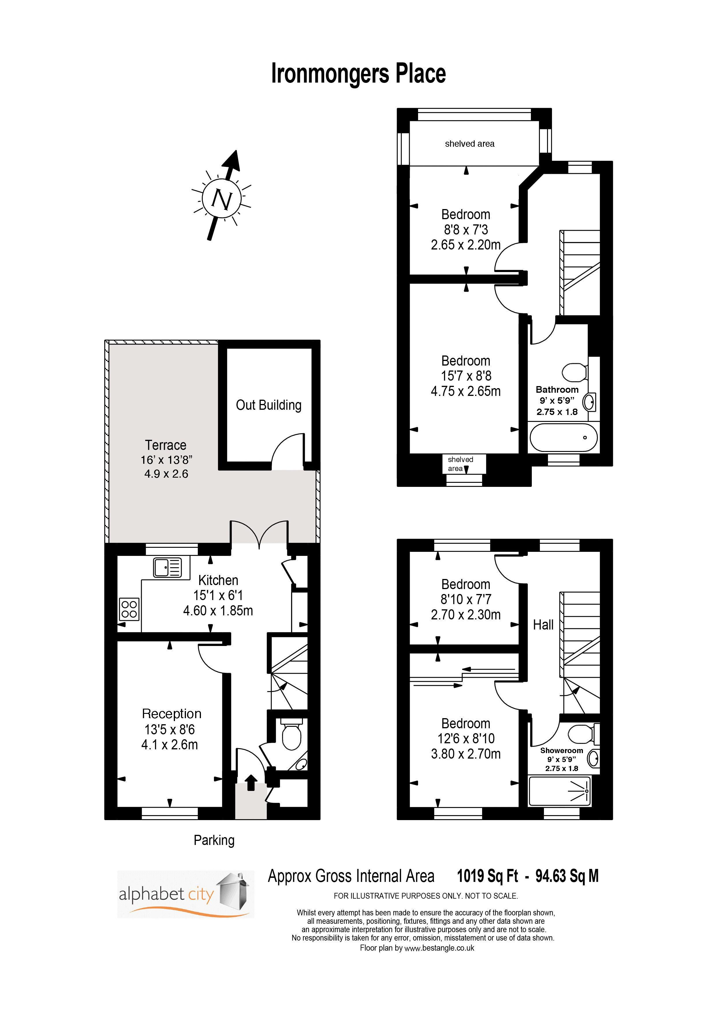 Ironmongers Floorplan
