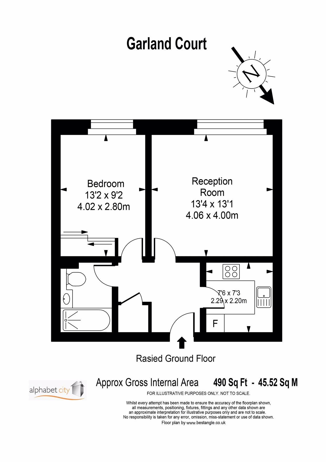 Garland 3 Floor plan