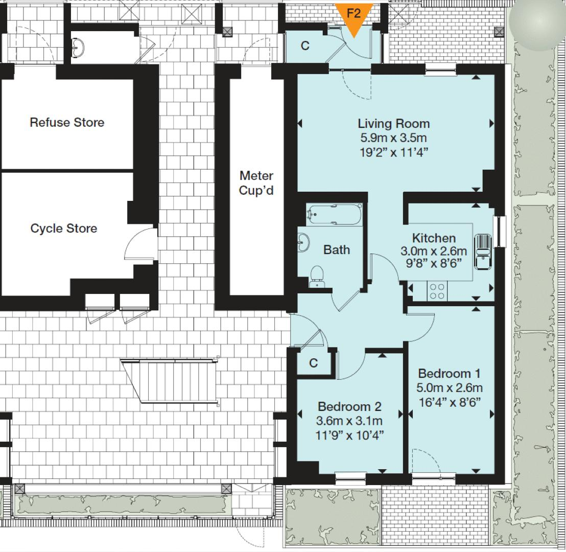 Guppy House Floorplan
