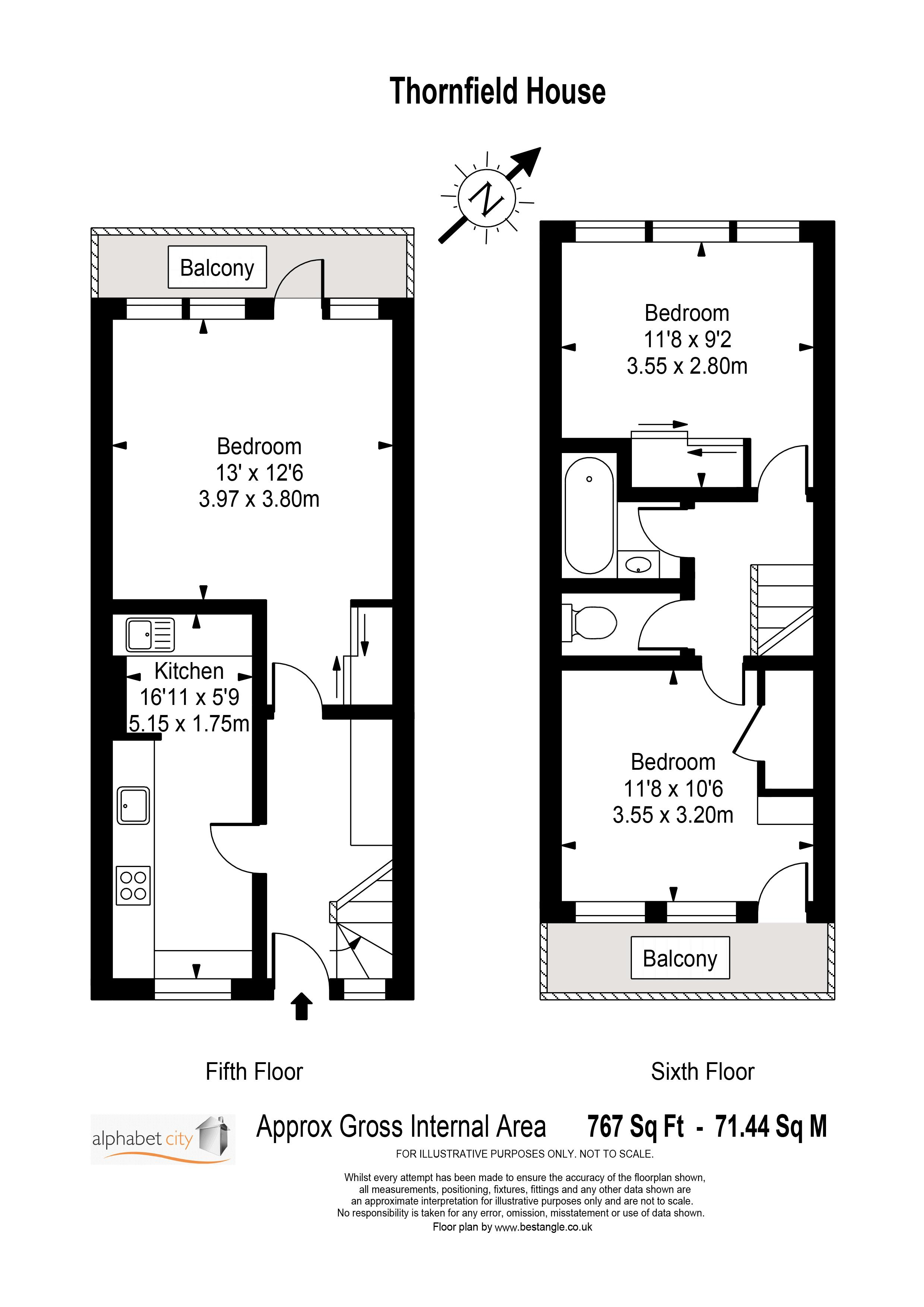 Thornfield House Floorplan