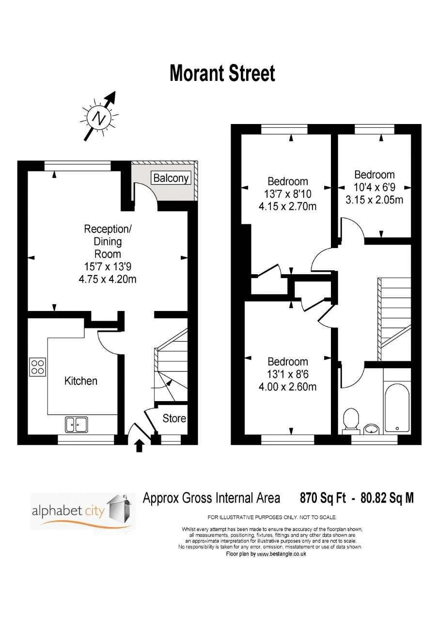 Morant Street Floor-plan
