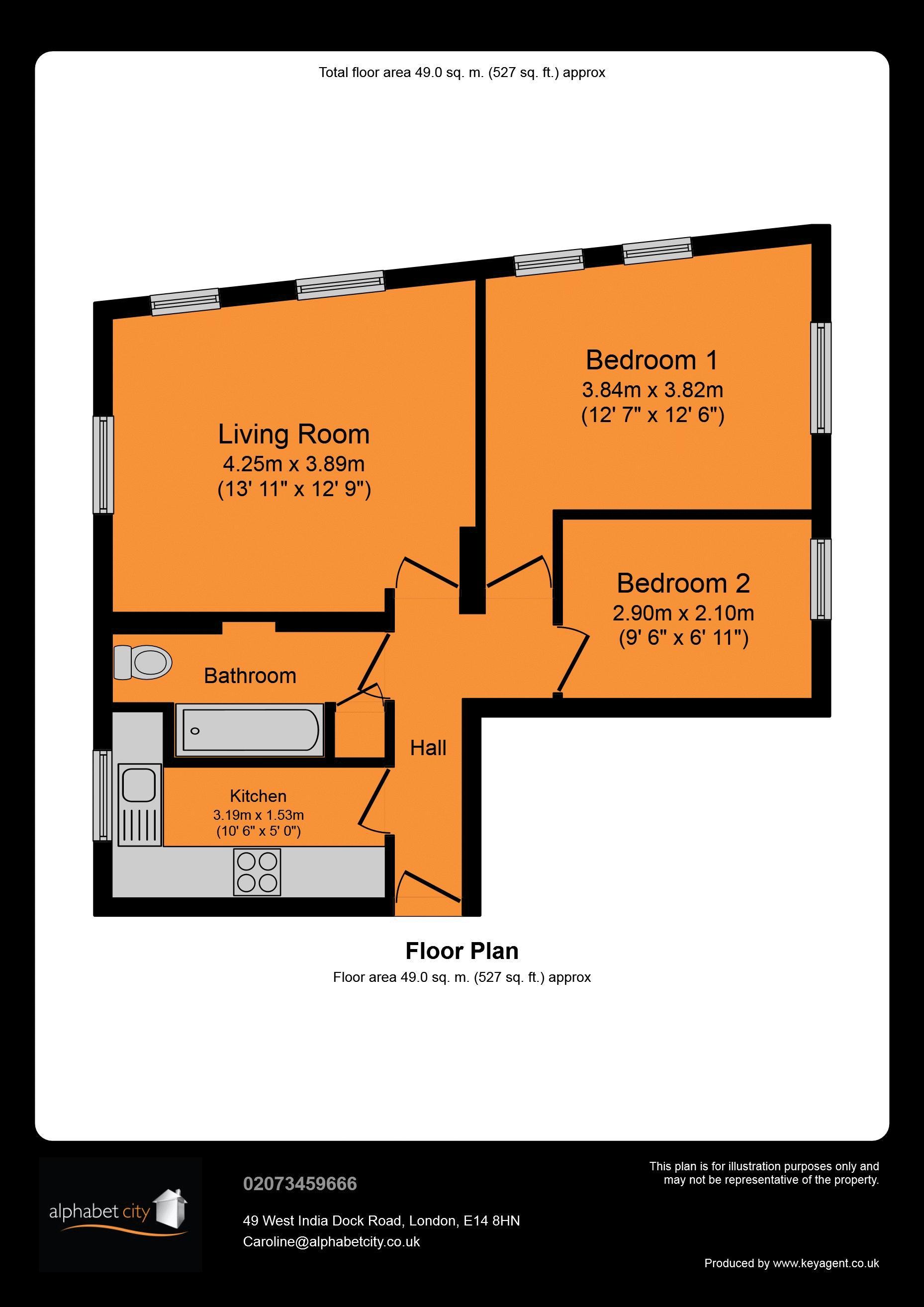 Arcadia - Floor Plan