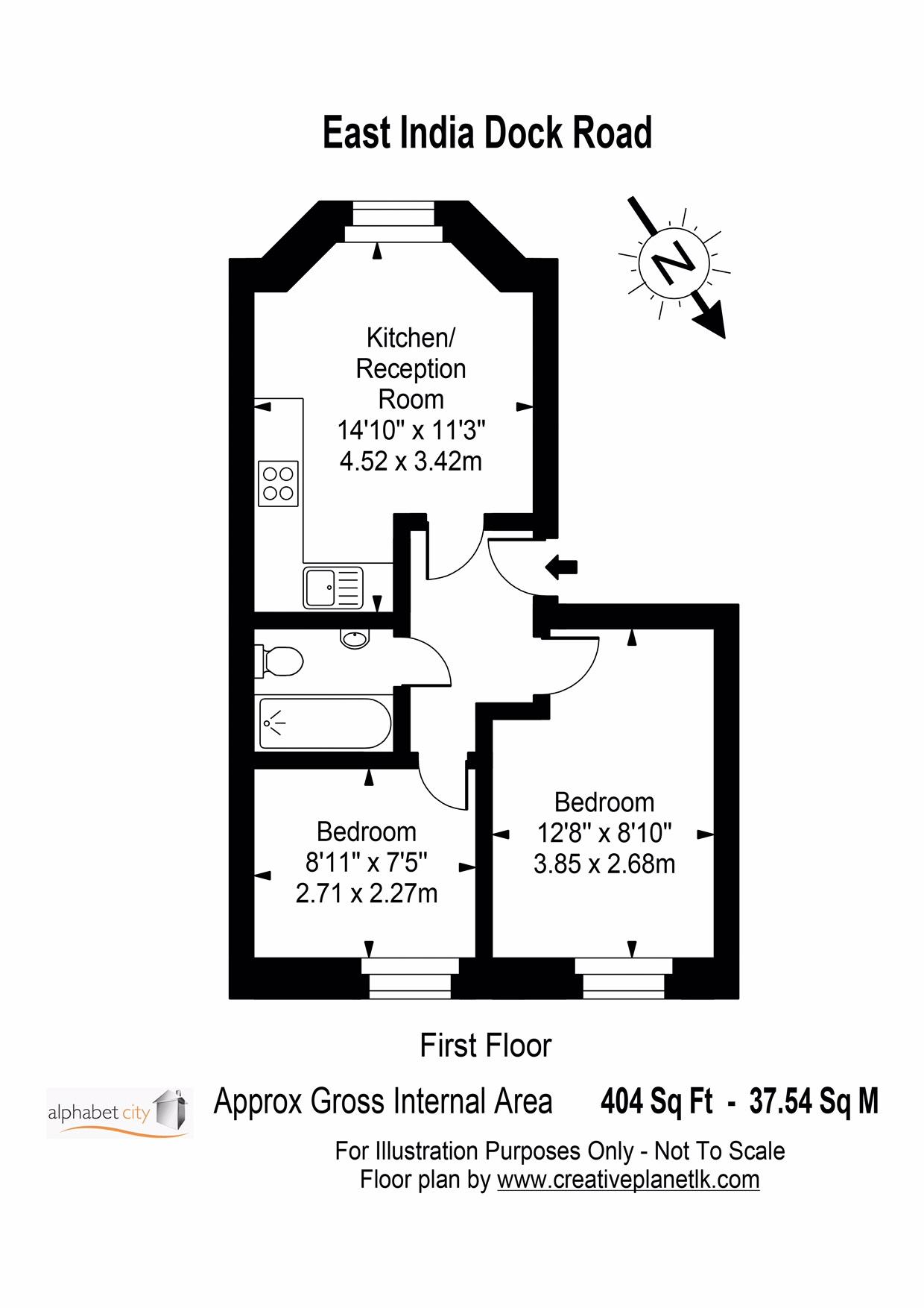 Floor Plan - East India 40b
