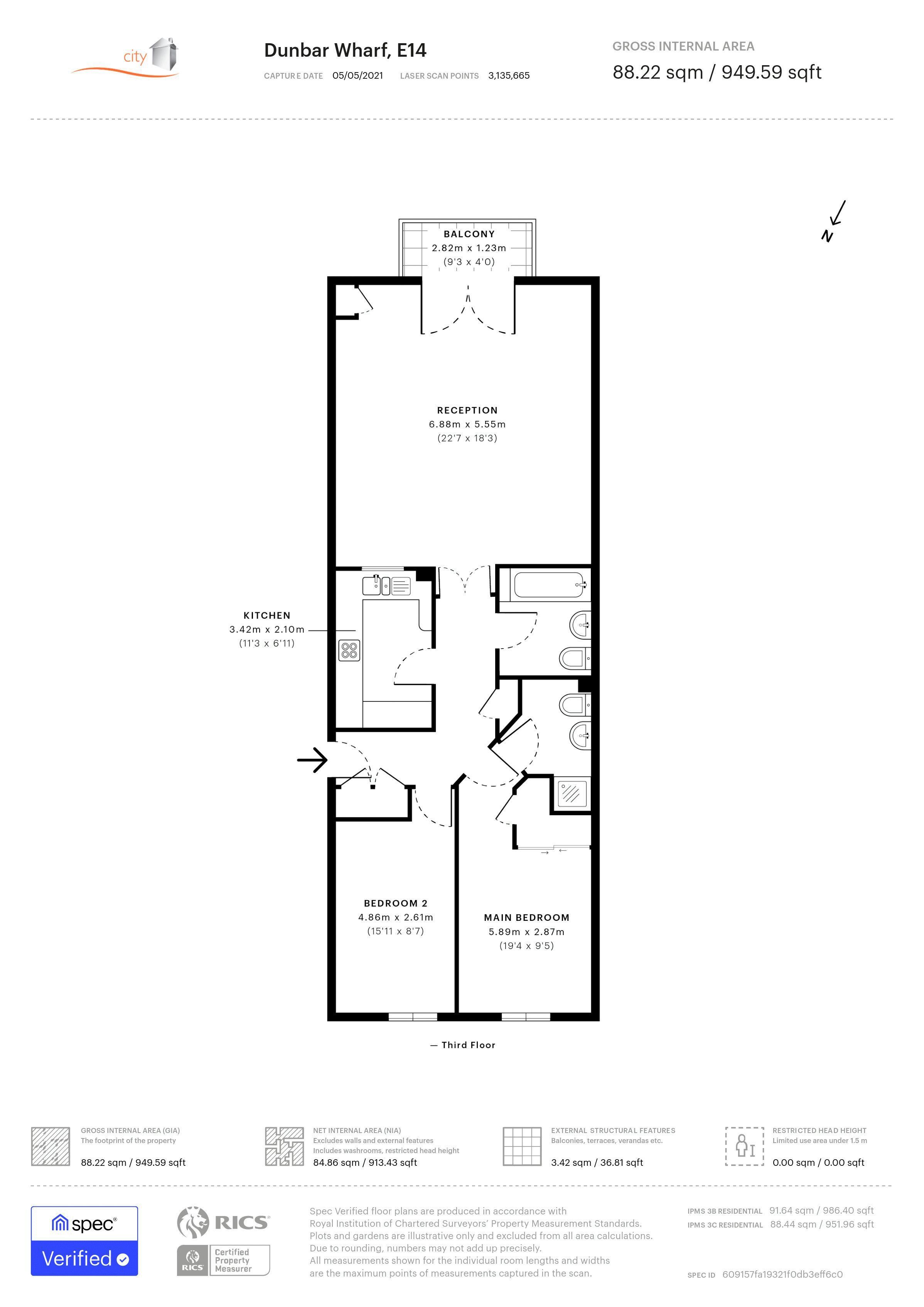 Dunbar Floor plan