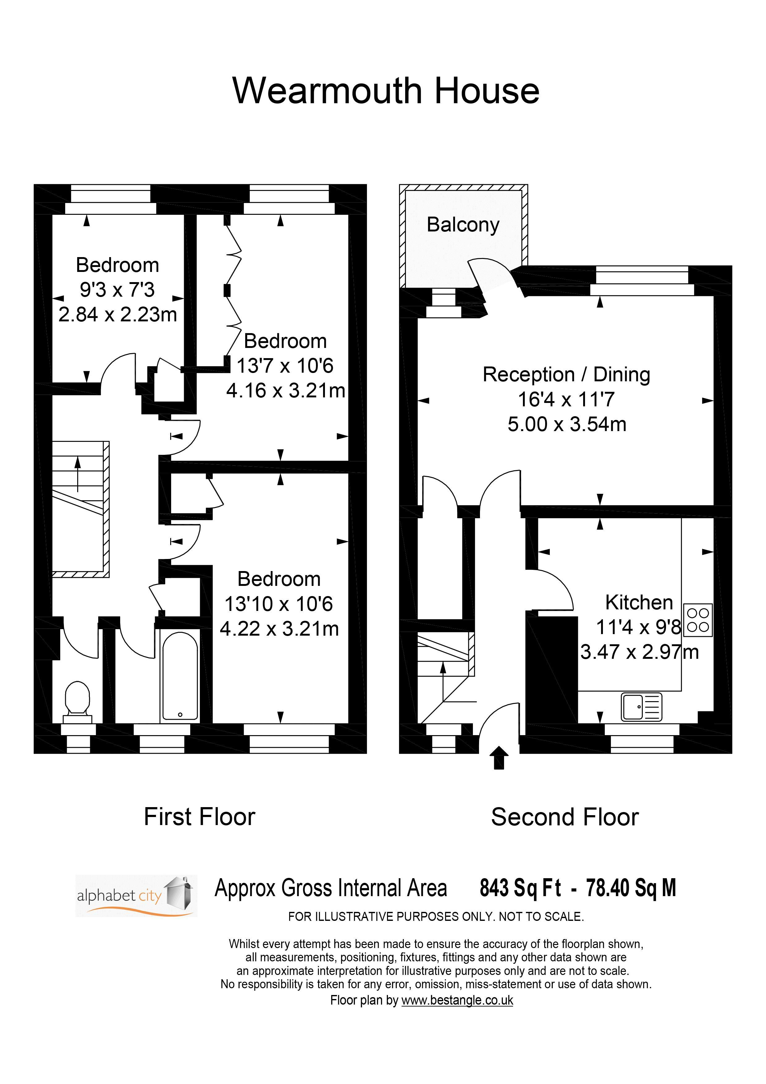 Wearmouth Floor Plan