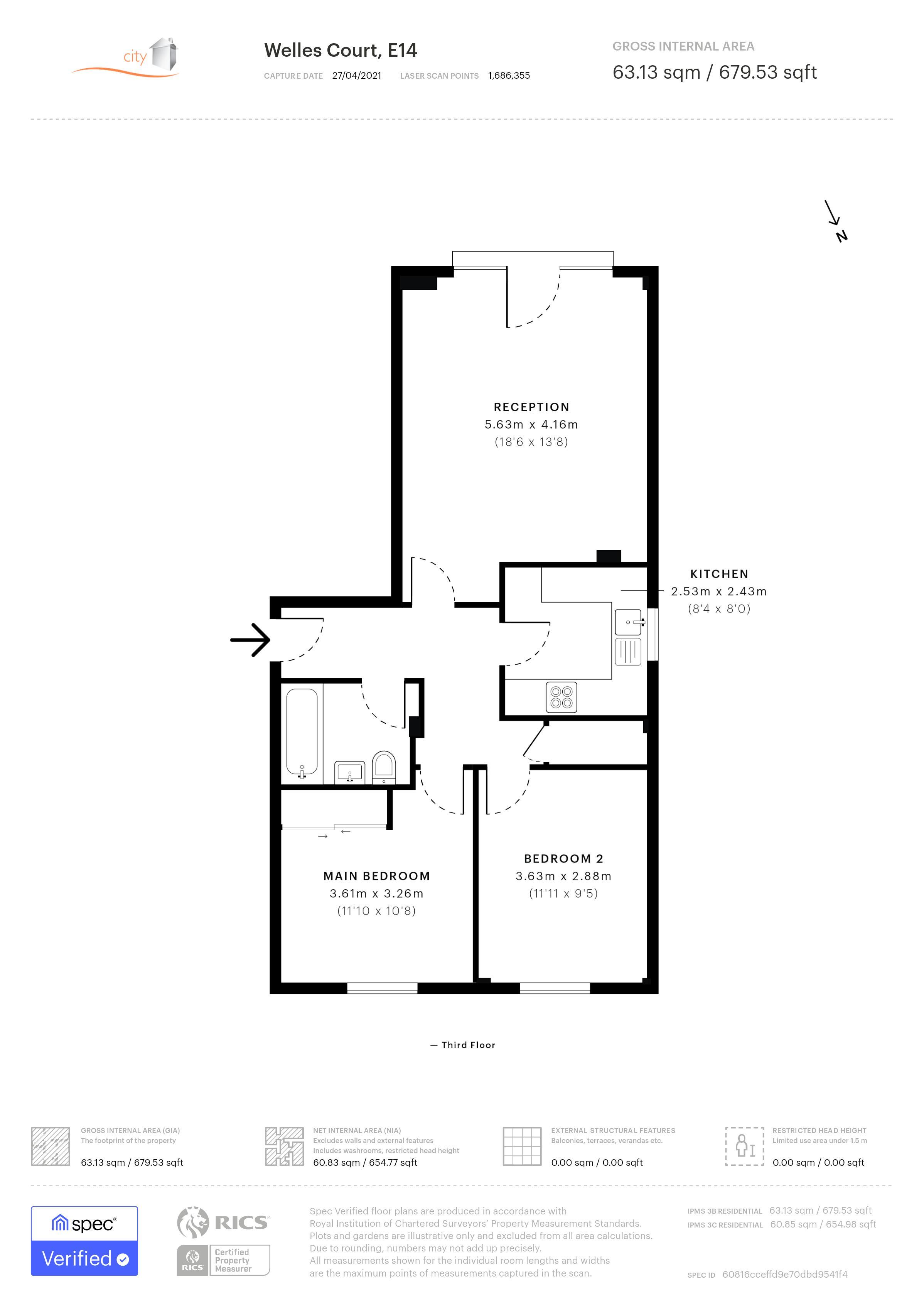 Welles Court Floorplan