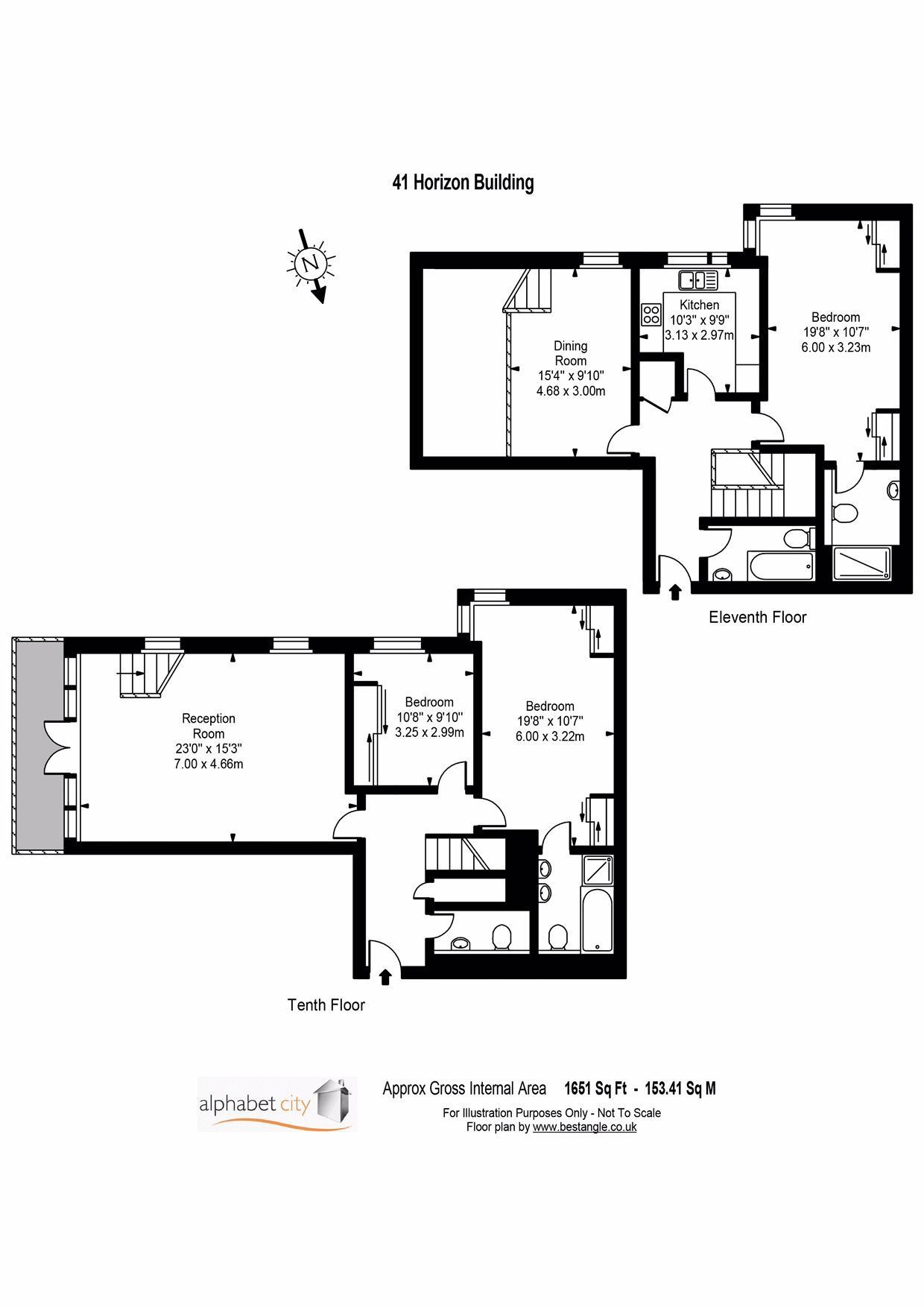 41 Horizon Floor plan