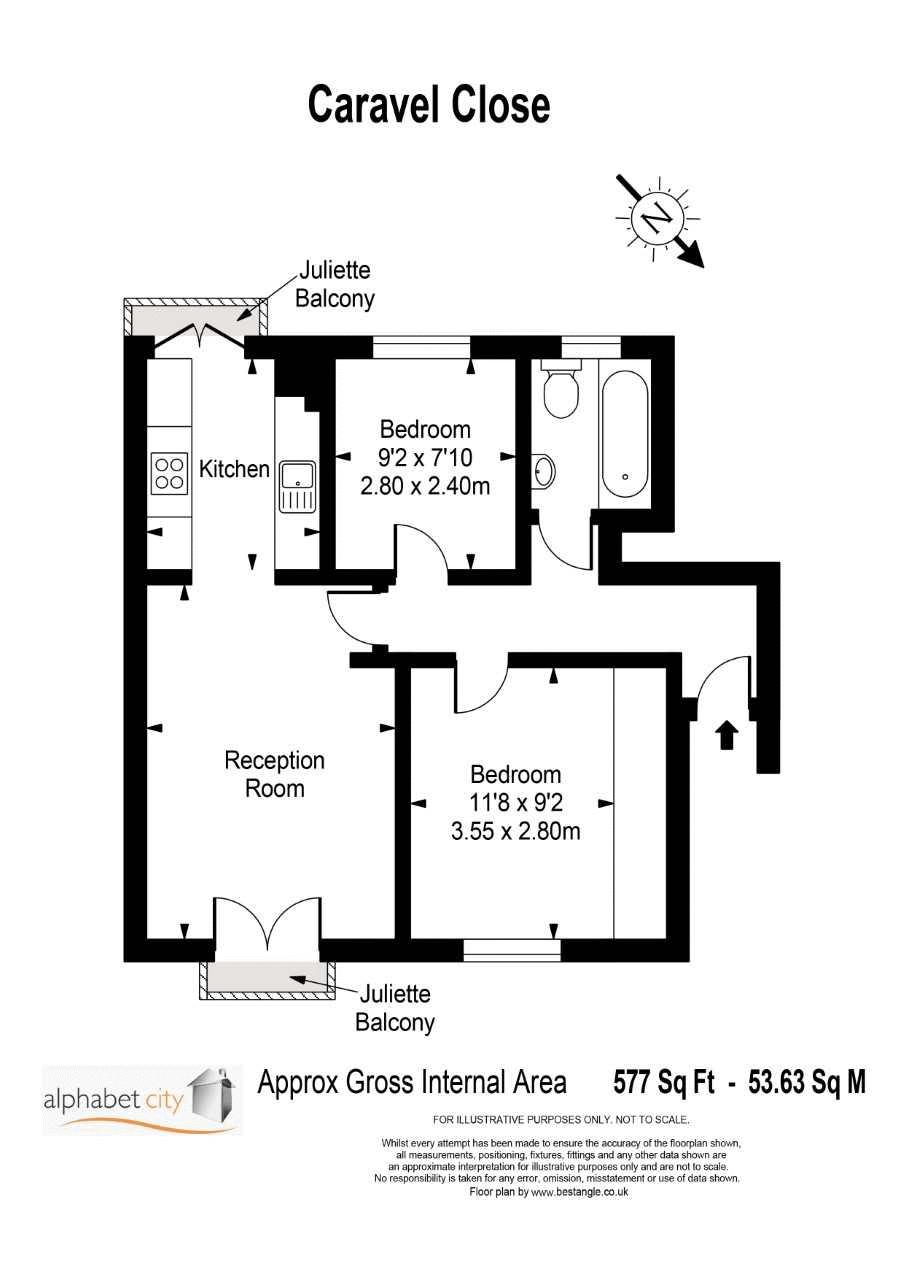 Caravel Close Floorplan