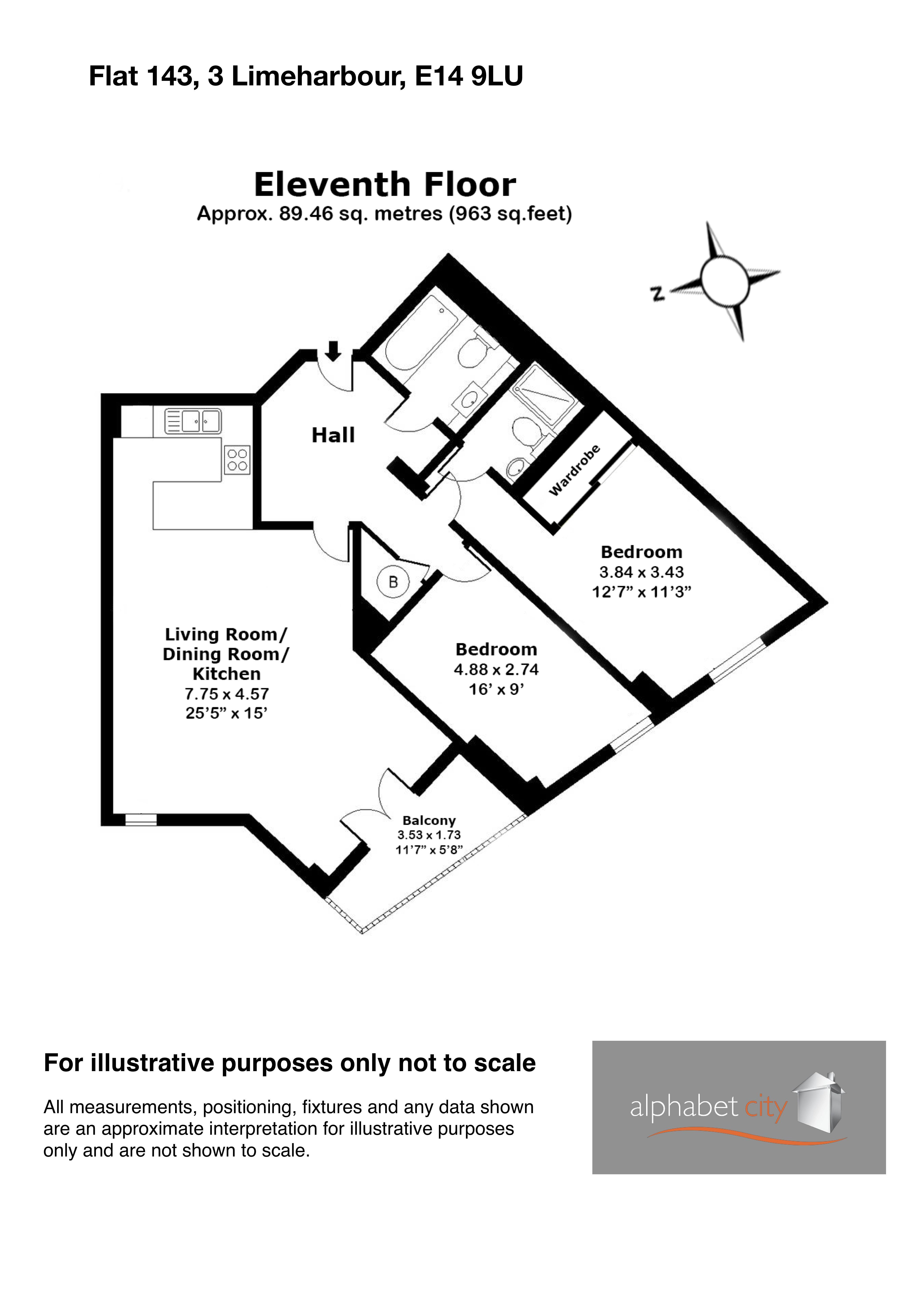 Limeharbour Floor Plan