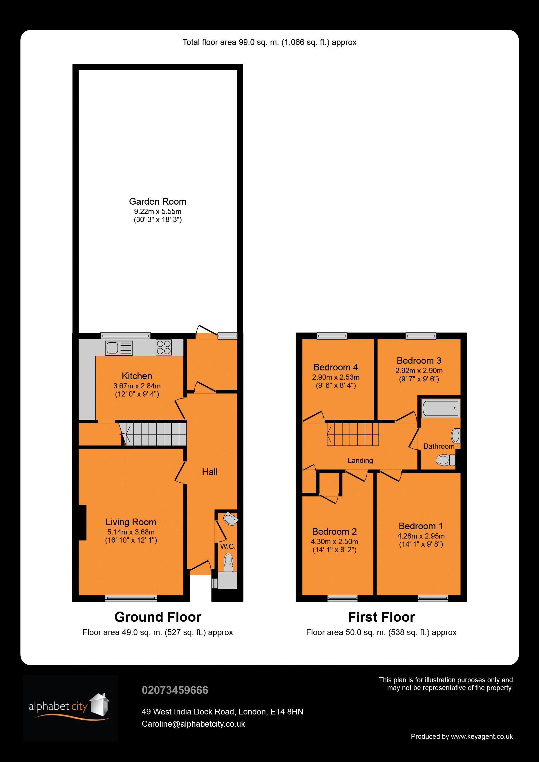 Smythe 7 Floor plan
