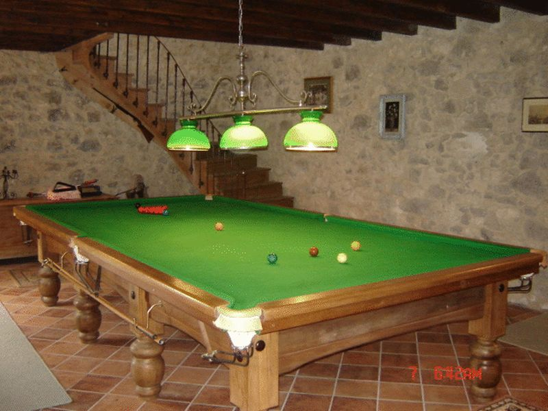 Games room and stairs to first floor of the barn