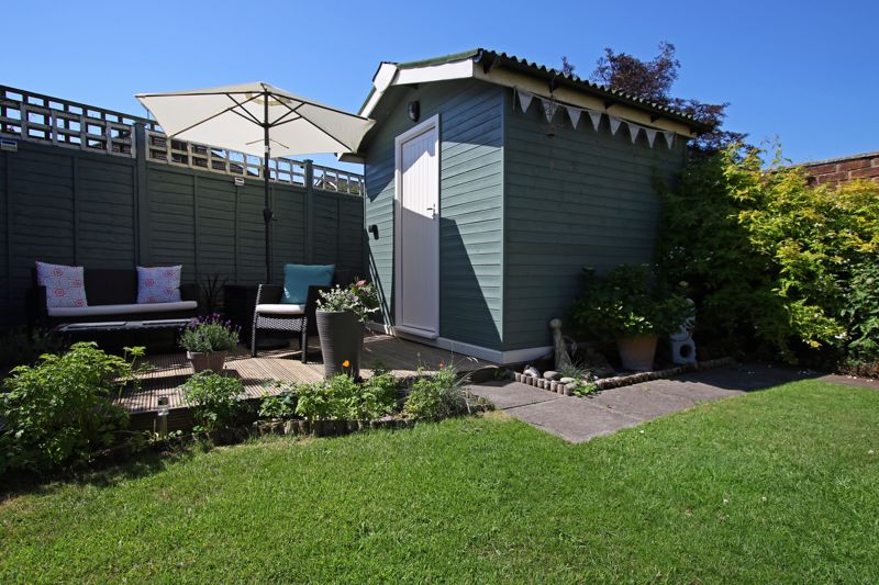 Garden Shed And Patio