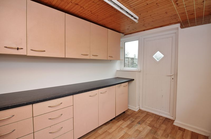 Extended Kitchen / Utility Area