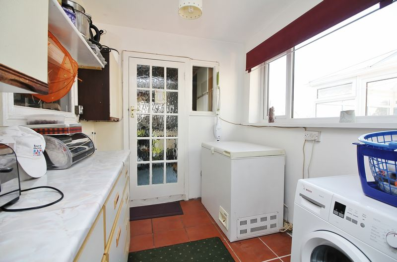 Utility Room Through To Extended Garage / Workshop