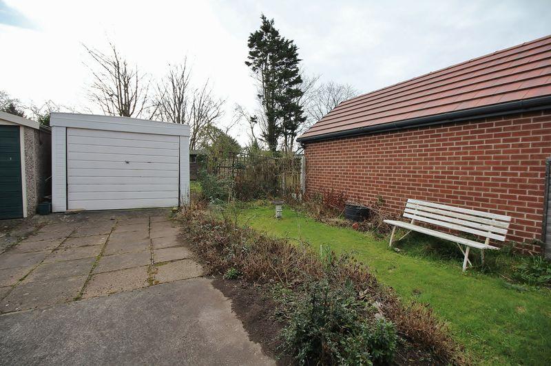Rear Garden / Drive & Garage