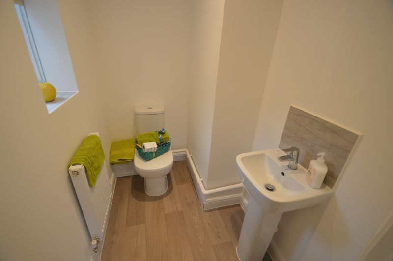 Colworth Showhome Cloakroom
