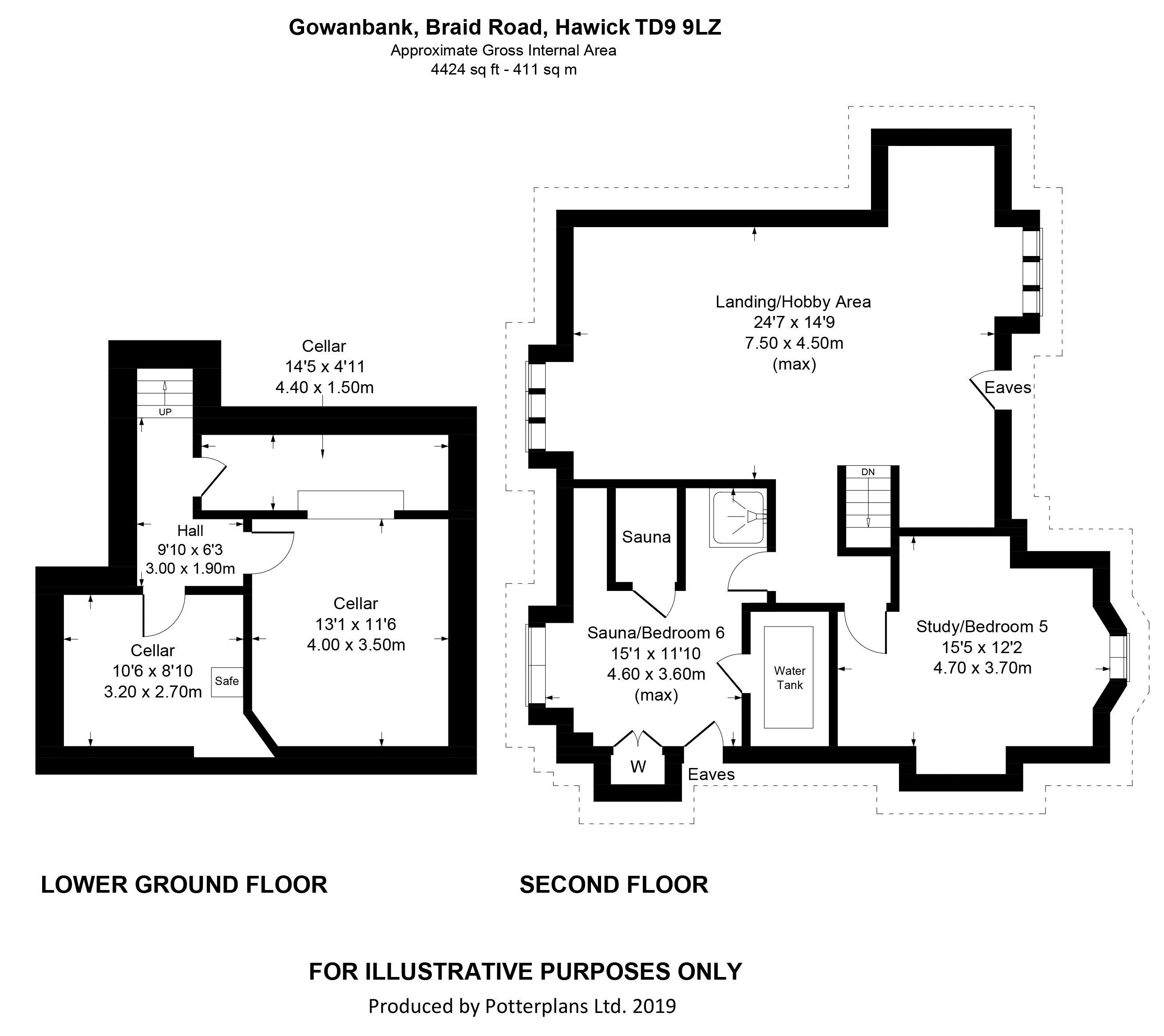 Gowanbank 2nd Floor & Lower Ground