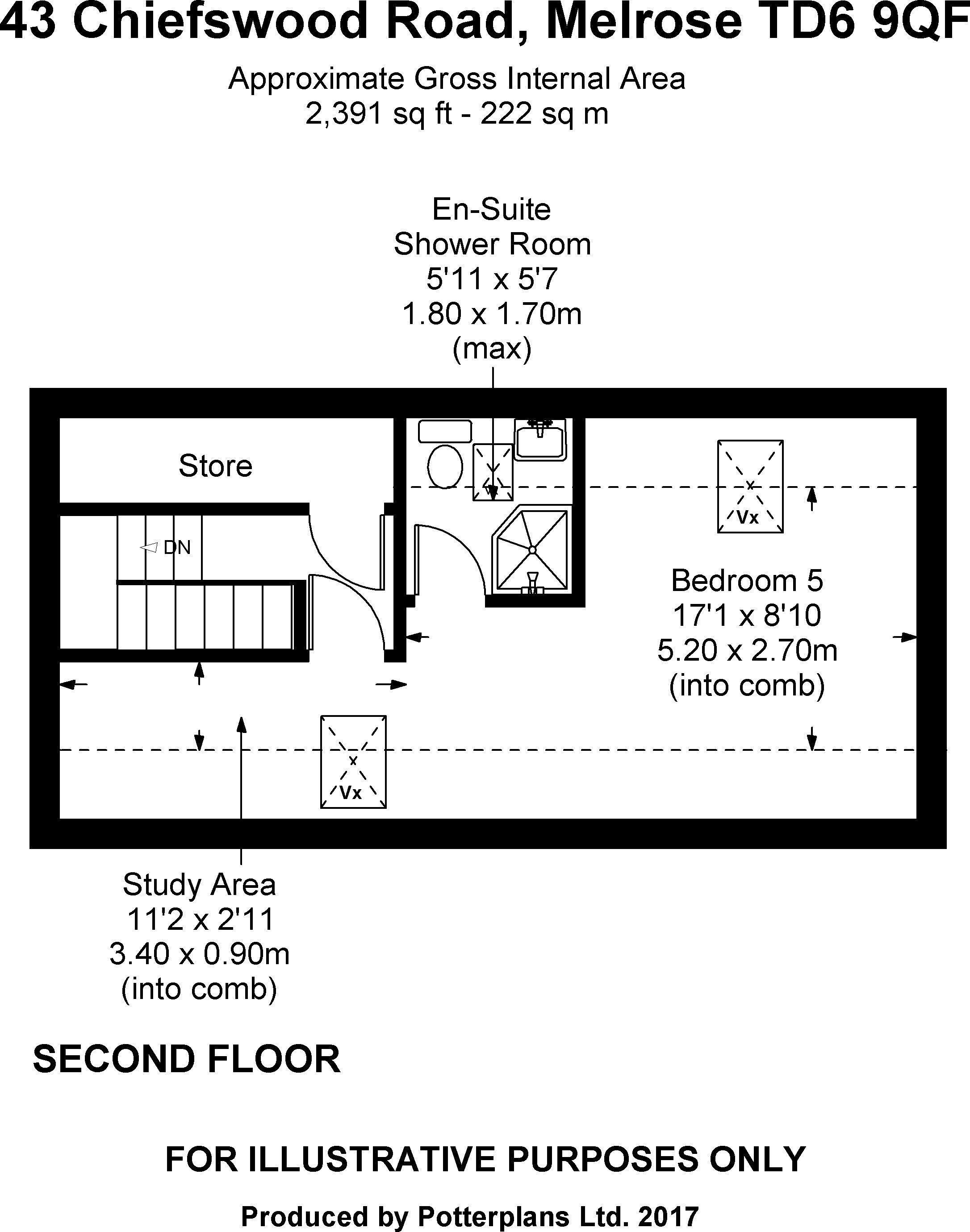 43 Chiefswood Road Second Floor