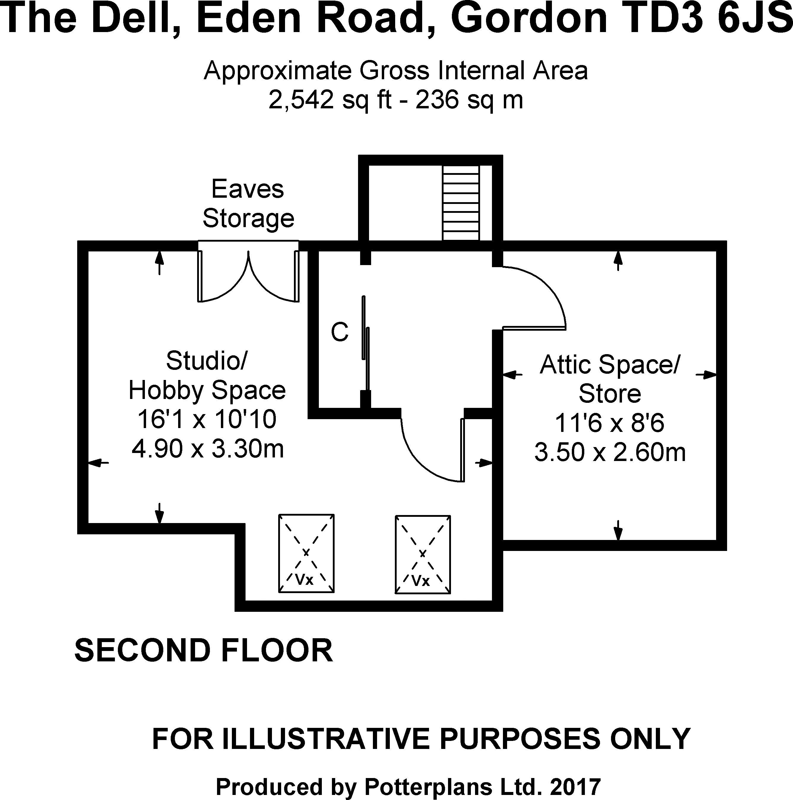 The Dell Second Floor