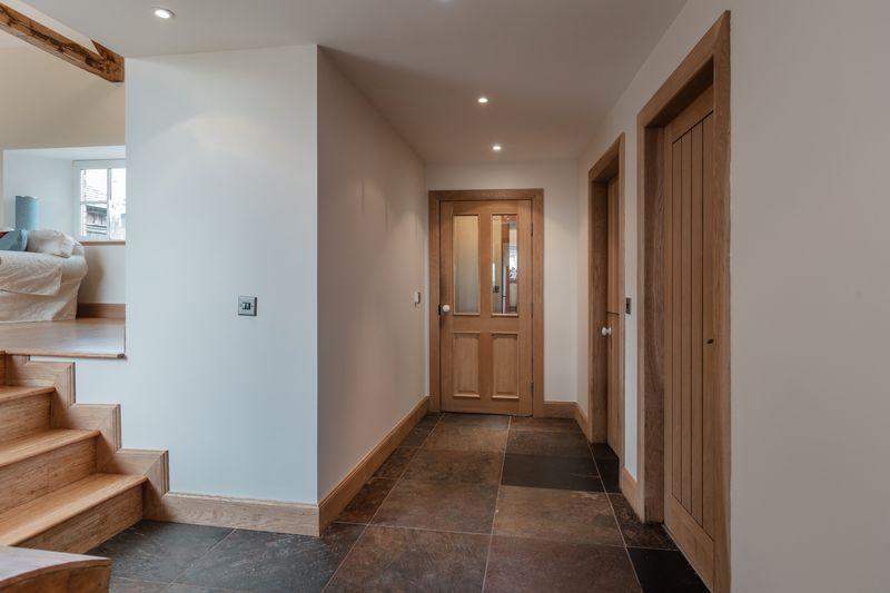 Huntshaw Cottage, entryway