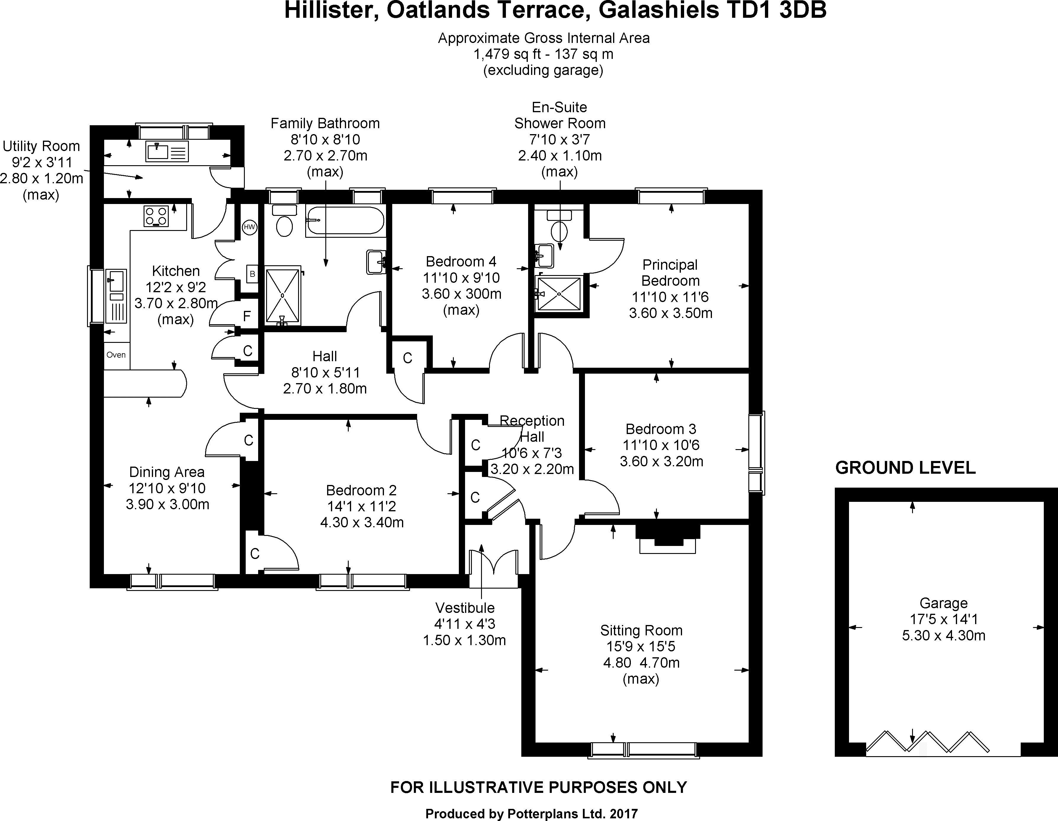Hillister Floorplan
