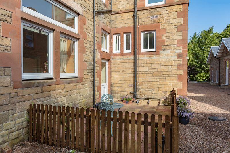 Patio area & back door