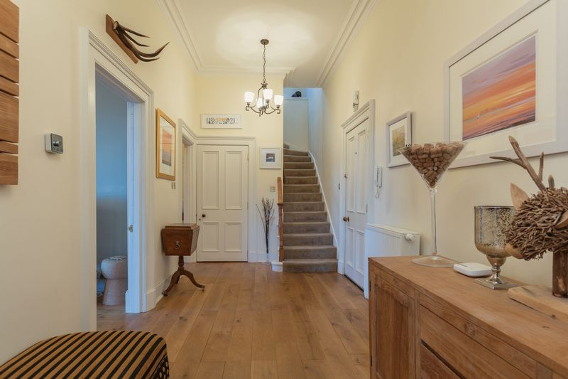 Balnakiel hallway