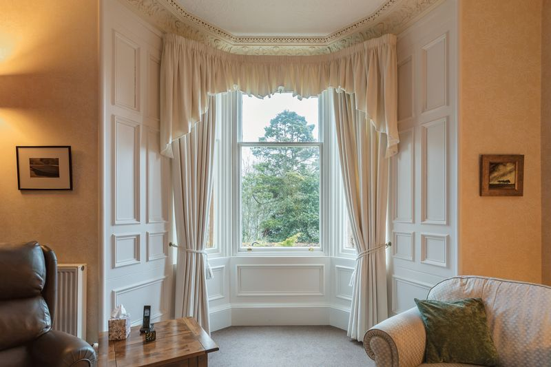 Sitting room bay window
