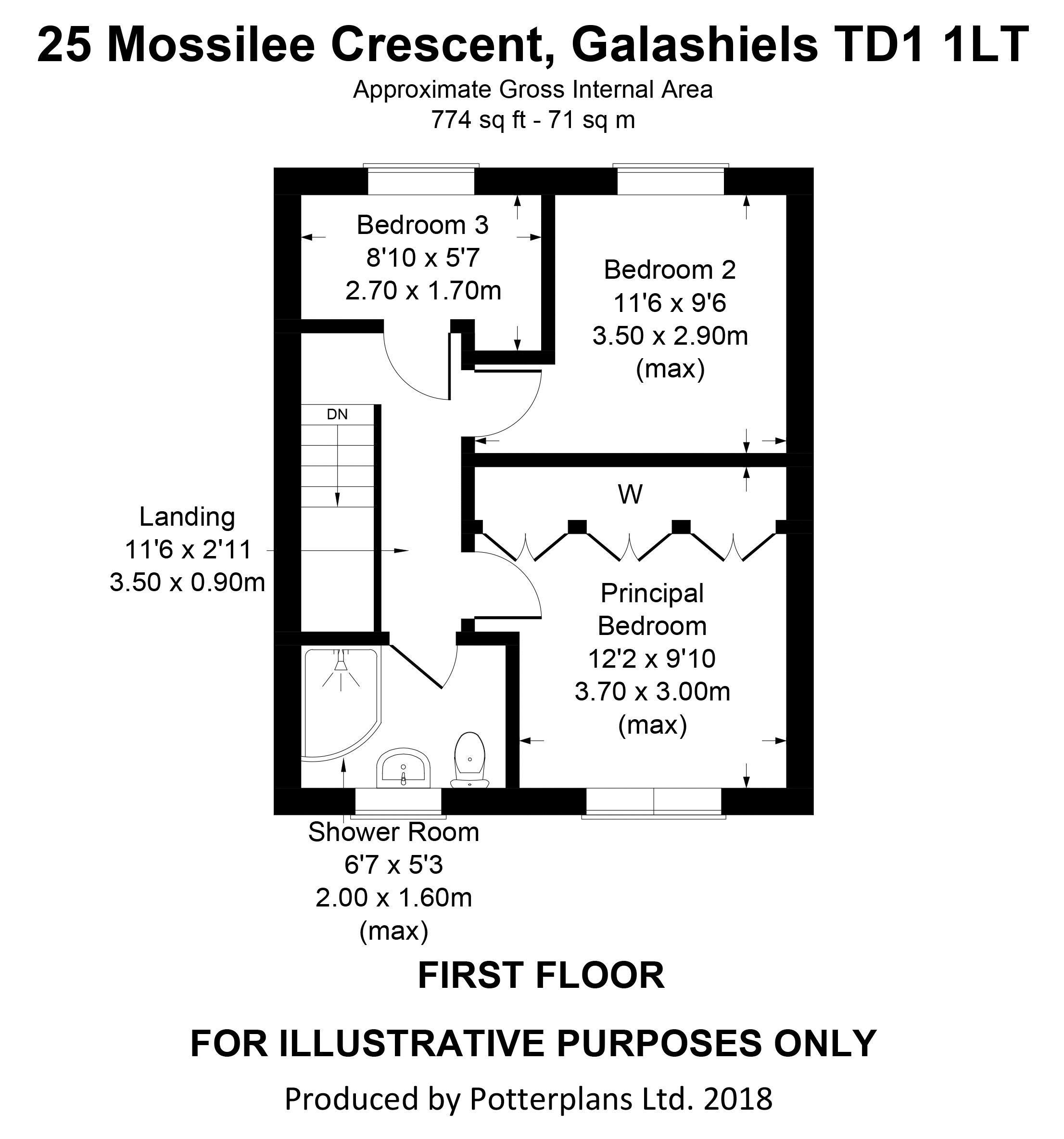 25 Mossilee Crescent First Floor
