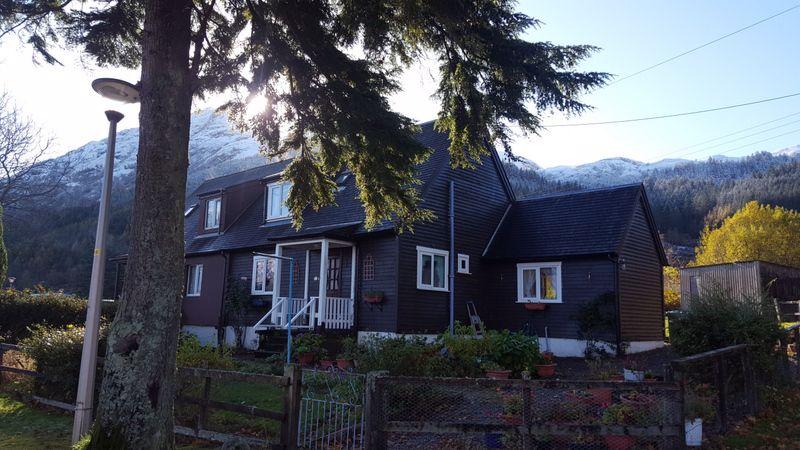 Forestry Houses Glenshiel