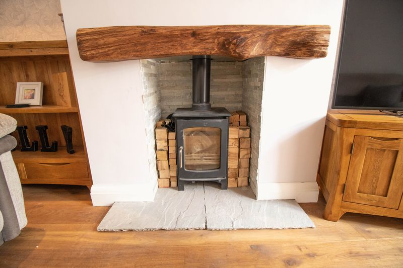Wood Burner Stove to Reception room 2