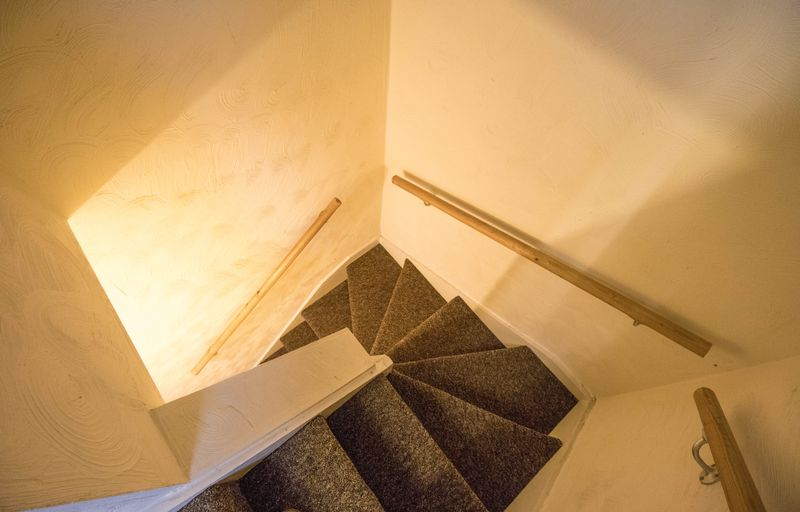 Stairwell to the loft