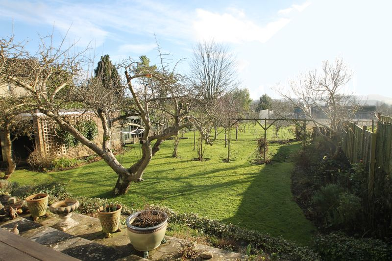 Garden to the rear and view beyond
