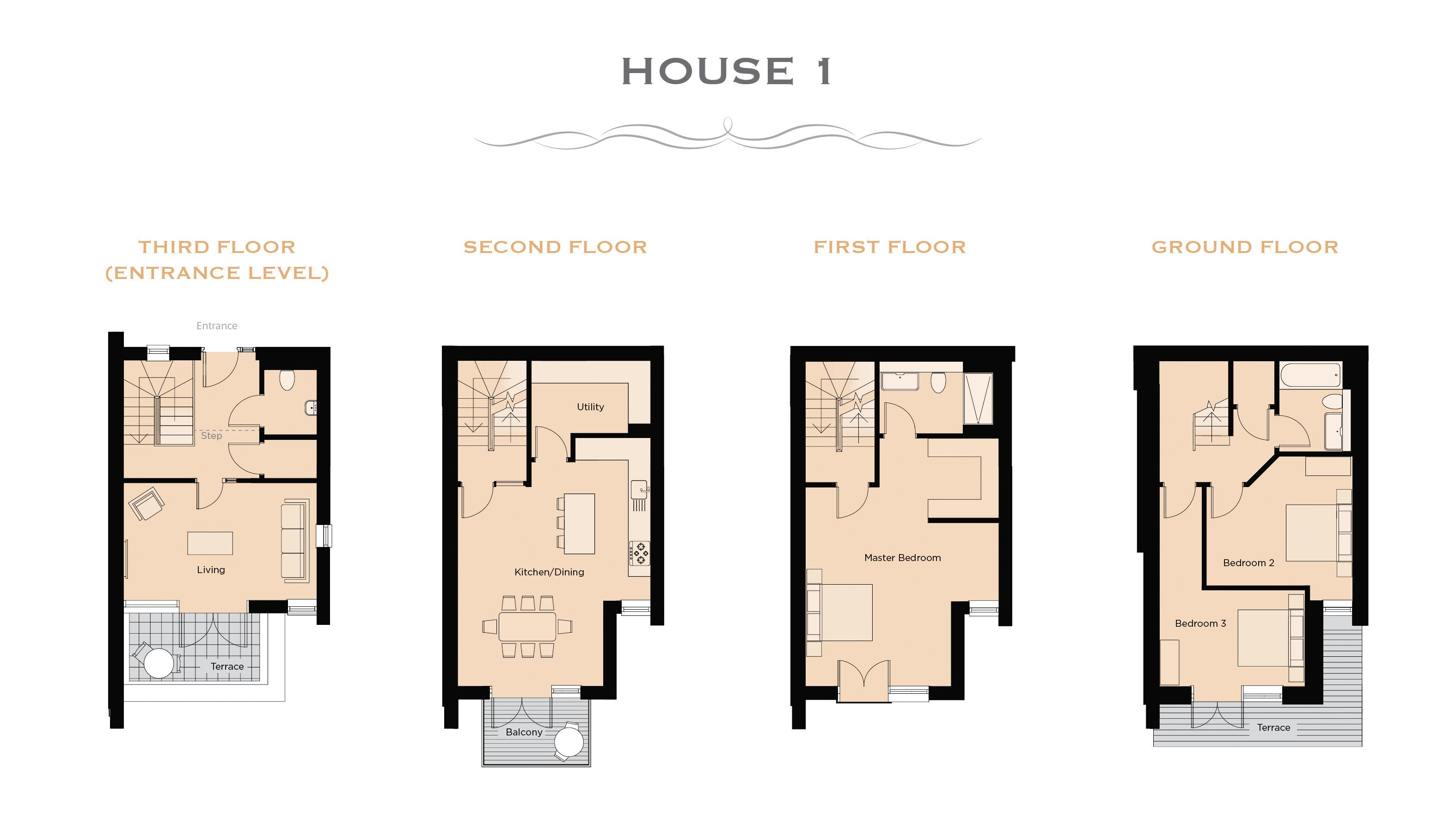 Marine parade clevedon jefferys estate agents cornwall for Floor plans 80 marine parade