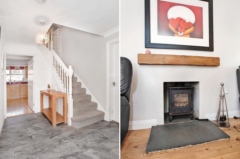 Entrance Hall / Log Burner