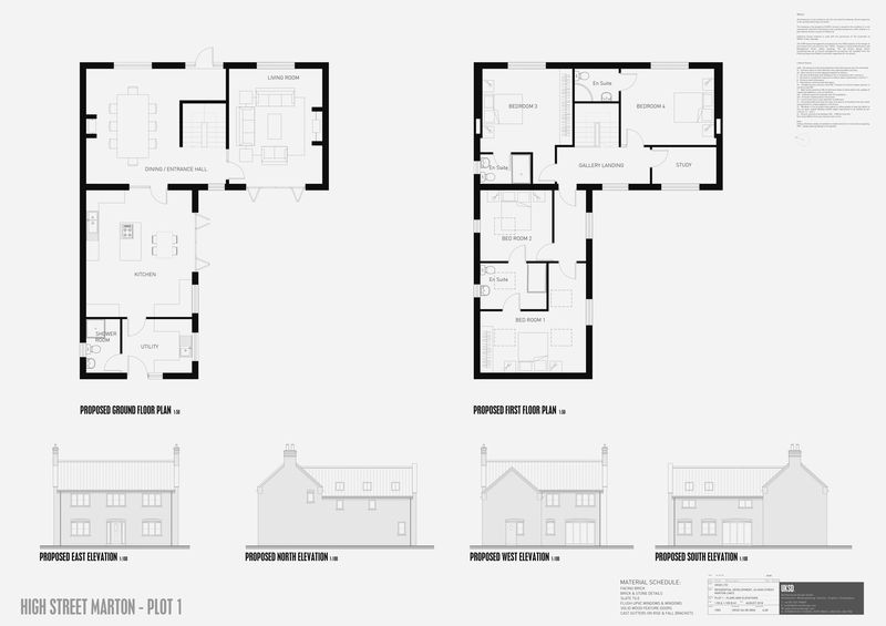 Plot 1, High Street Marton