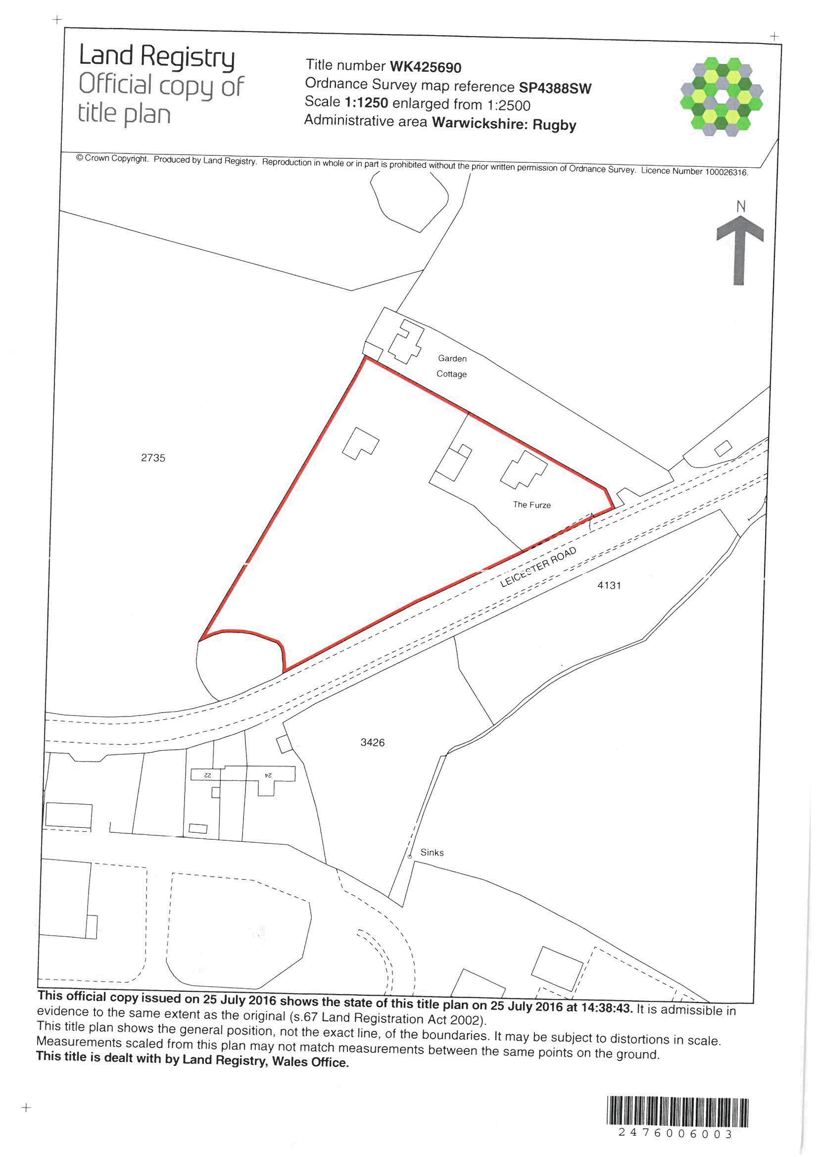 Land Registry Title Plan