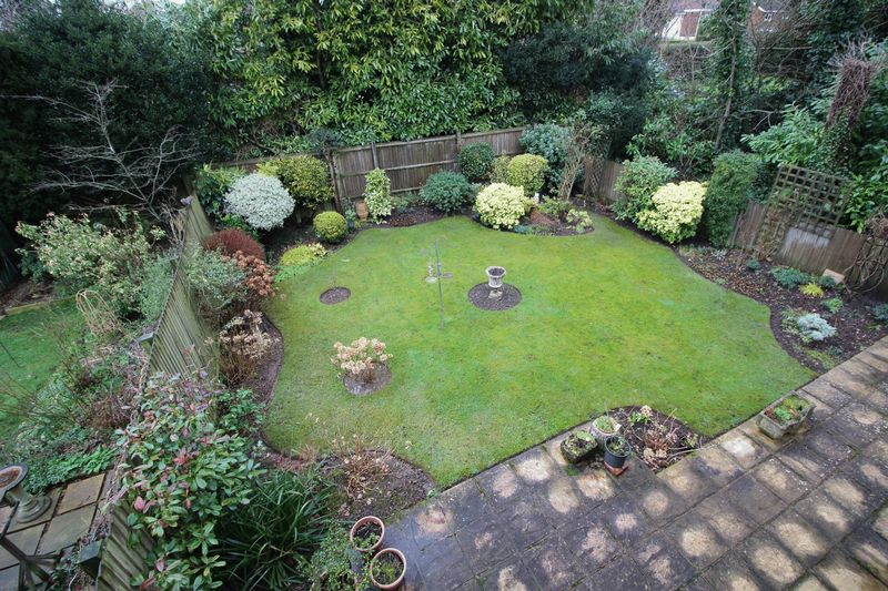 REAR GARDEN FROM REAR BEDROOM