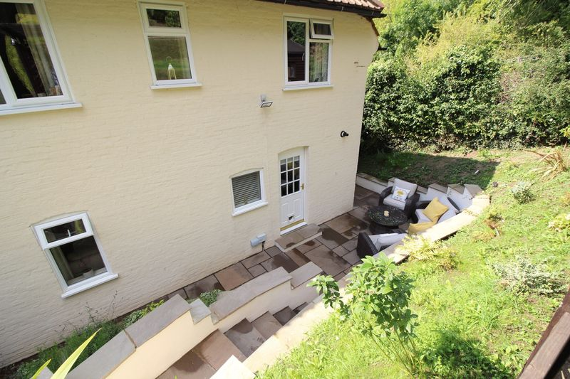 REAR OF HOUSE & PATIO