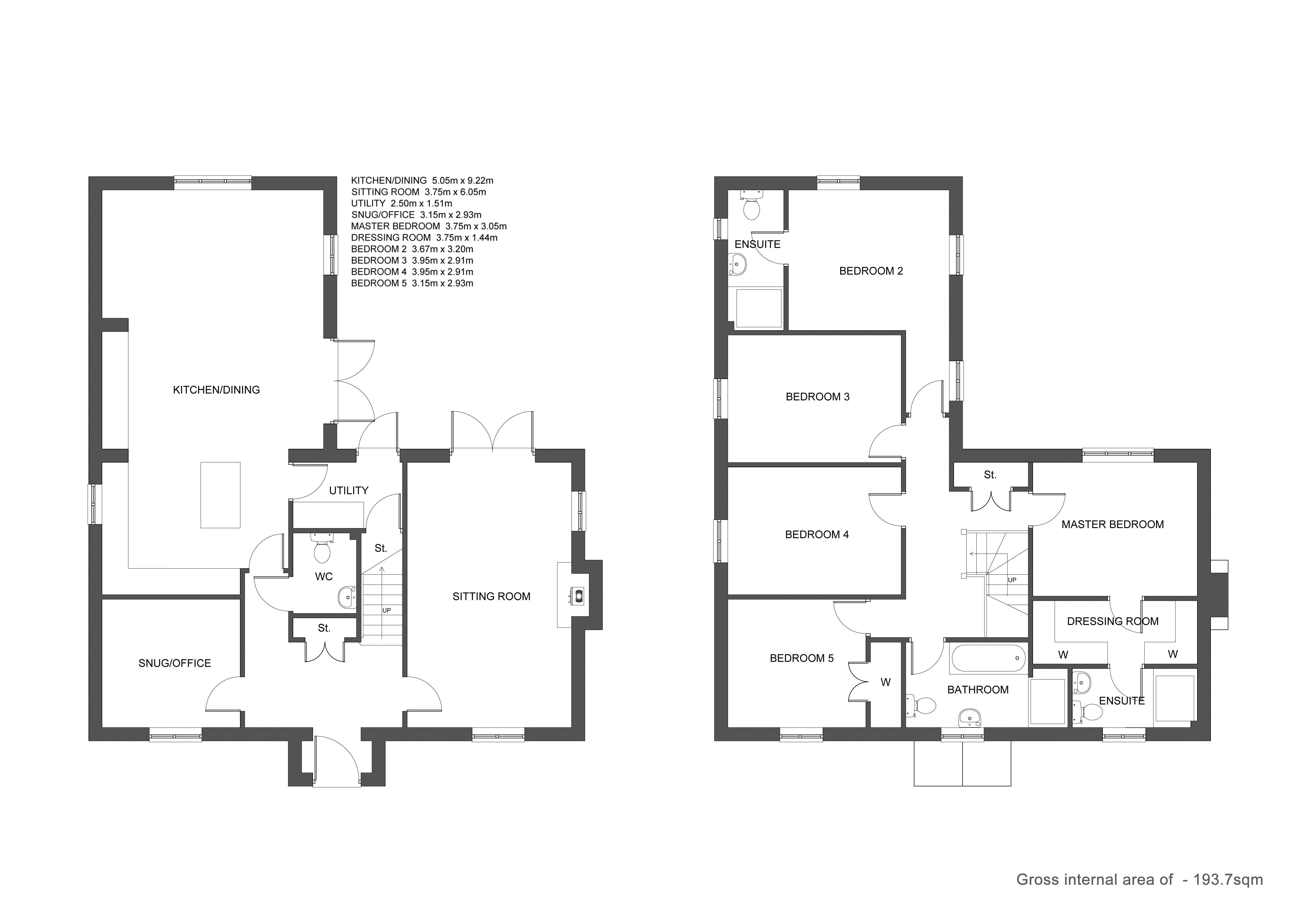 Plot 2 Floor Plan