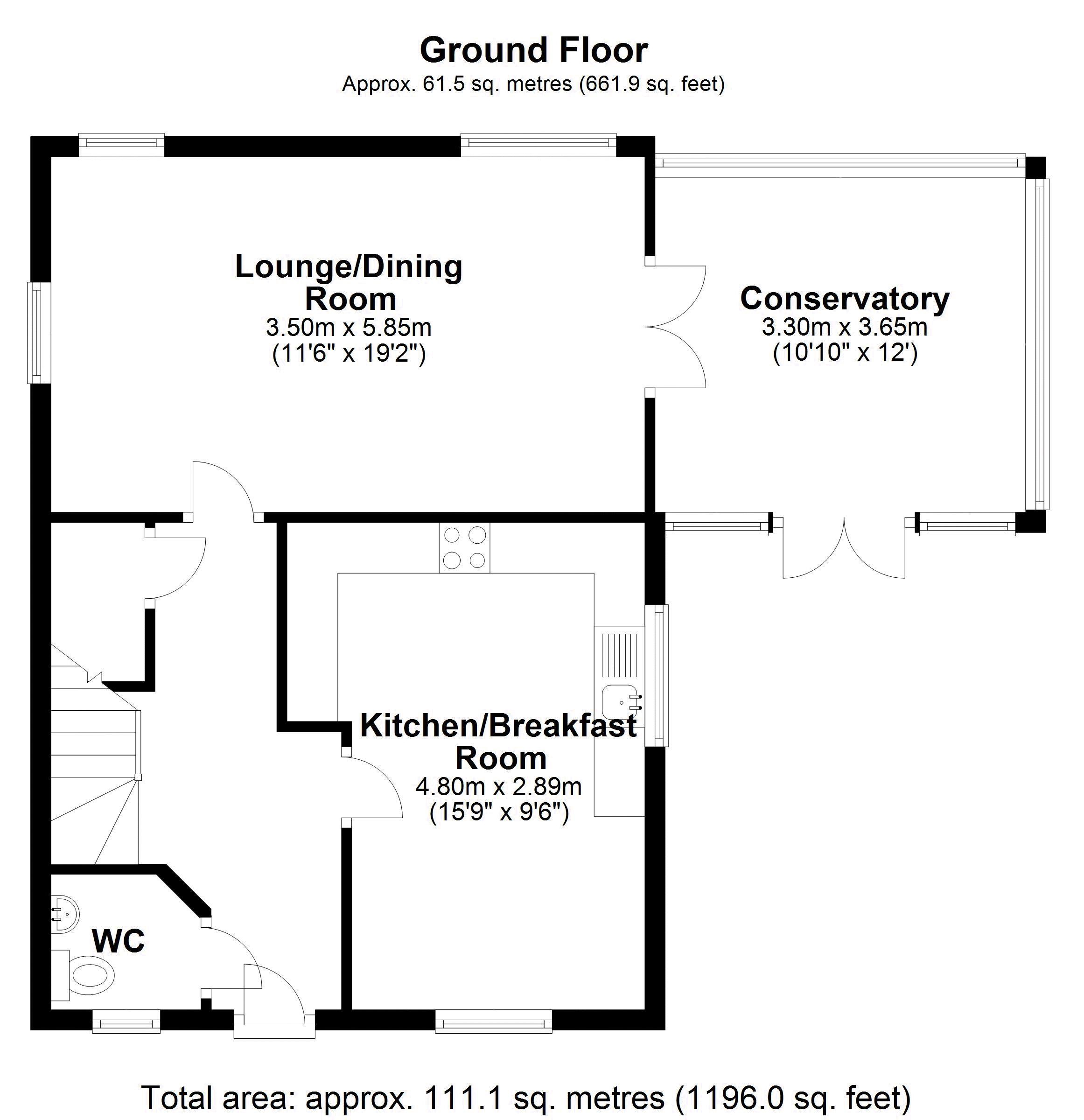 10 Priory Way Ground Floor
