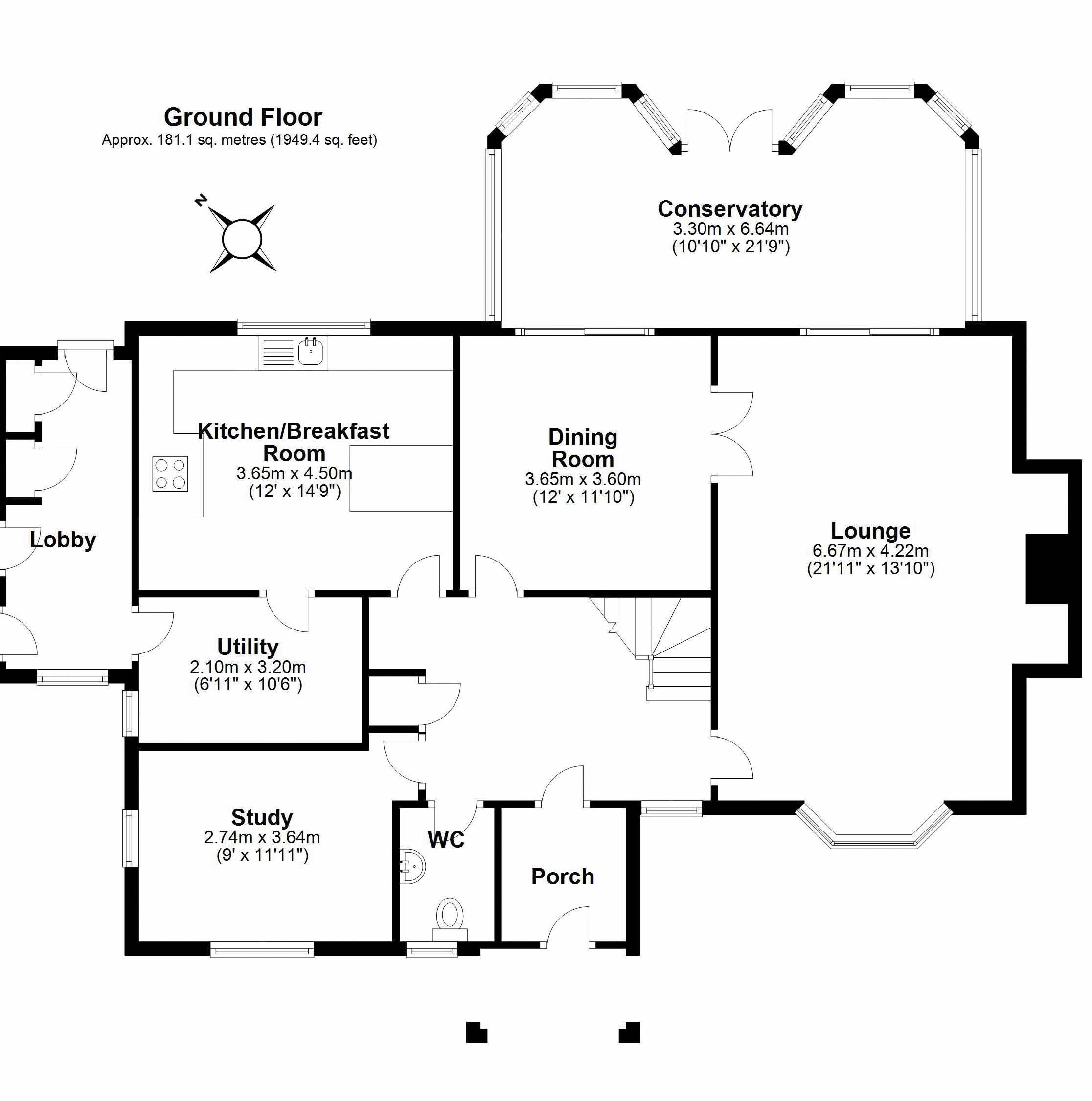 Main House Ground Floor Plan