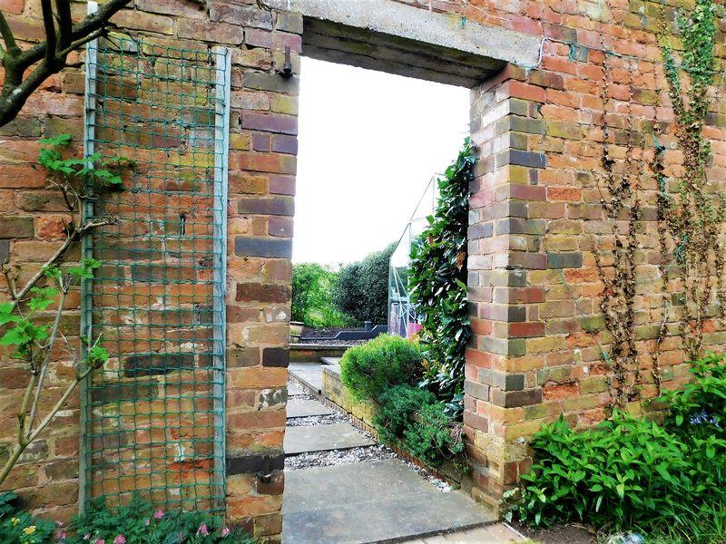 Entrance To Vegetable Garden