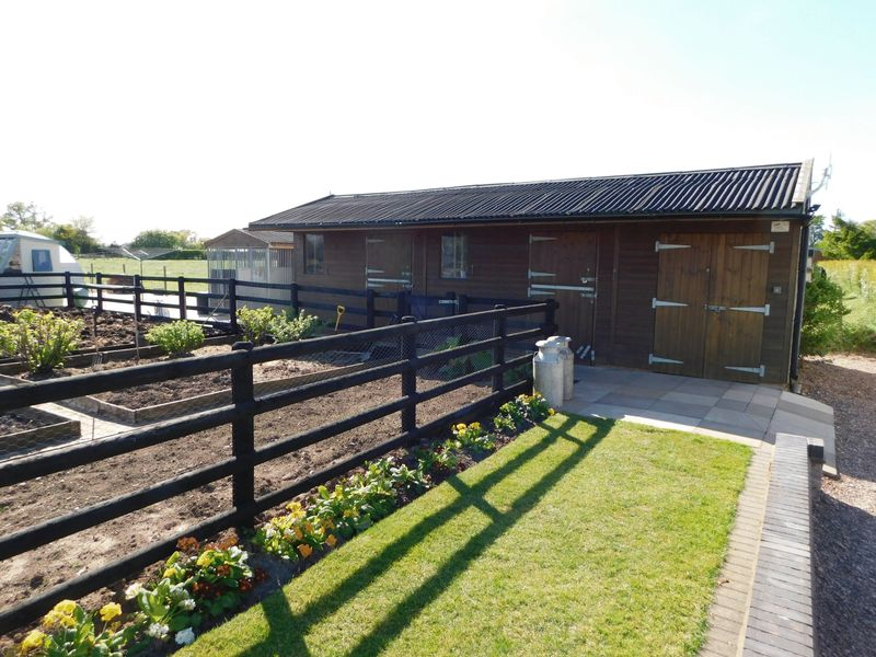 Outside Stable Block