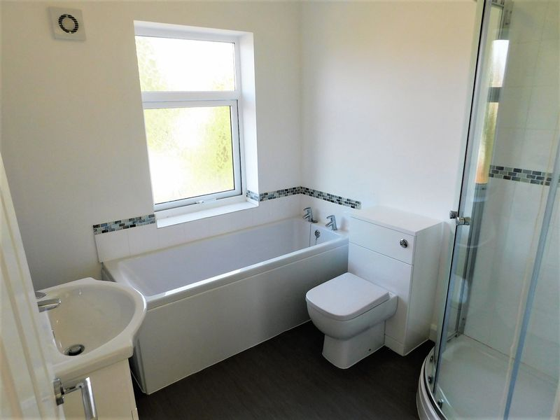 Refitted Bath/Shower Room